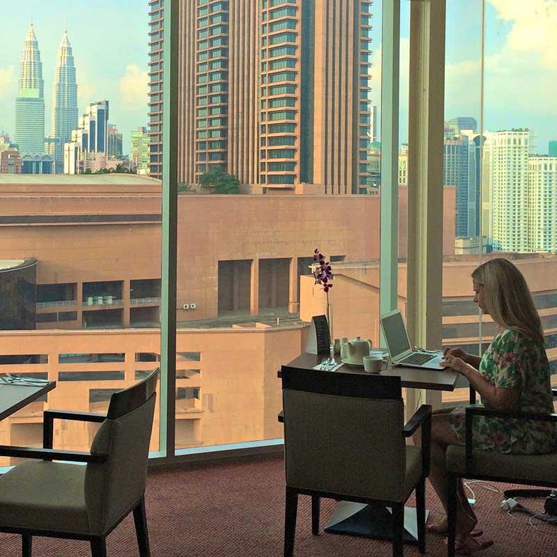 رزرو هتل 4 ستاره فوراما Furama در مثلث طلایی کوالالامپور