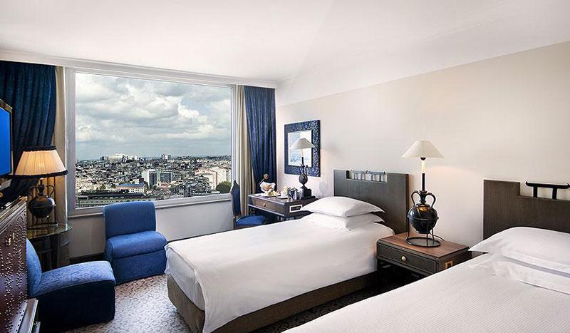 معرفی و رزرو آنلاین هتل 5 ستاره مارمارا تکسیم استانبول