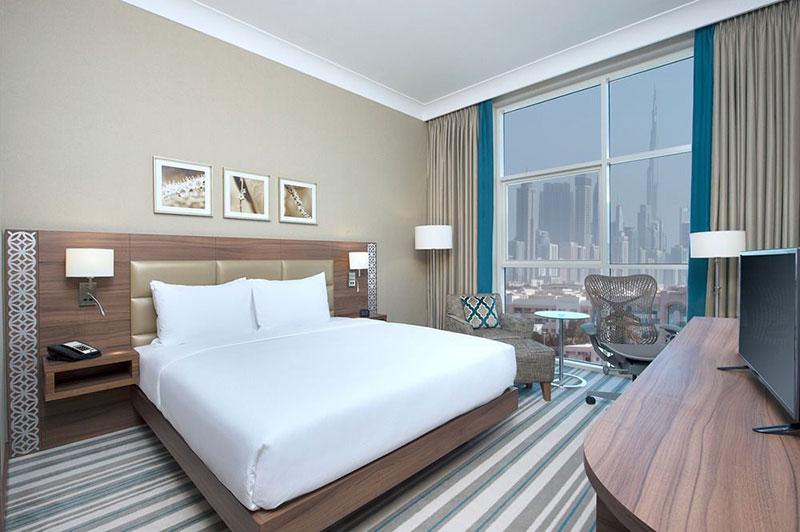 آشنایی و رزرو آنلاین هتل 4 ستاره ی هیلتون گاردن این المینا دبی