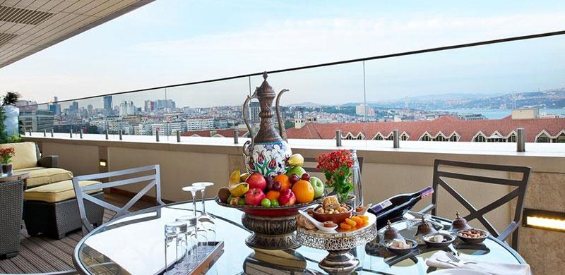 آشنایی با امکانات و رزرو هتل 5 ستاره ی دیوان Divan استانبول